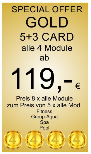 Gold 5+1 Card