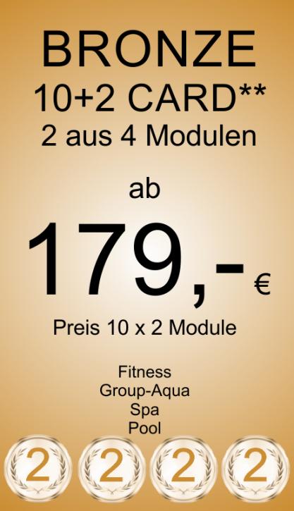 Bronze 10+2 Card