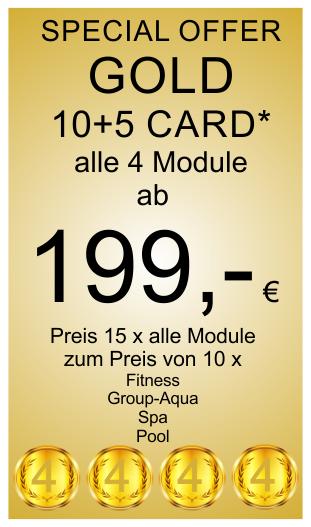 Gold 10+2 Card