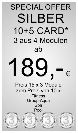 Silber 10+2 Card